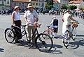 Zbraslav 2011, jízda elegance, příprava, tandem.jpg