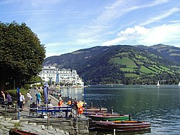 Zell am See i augusti 2004