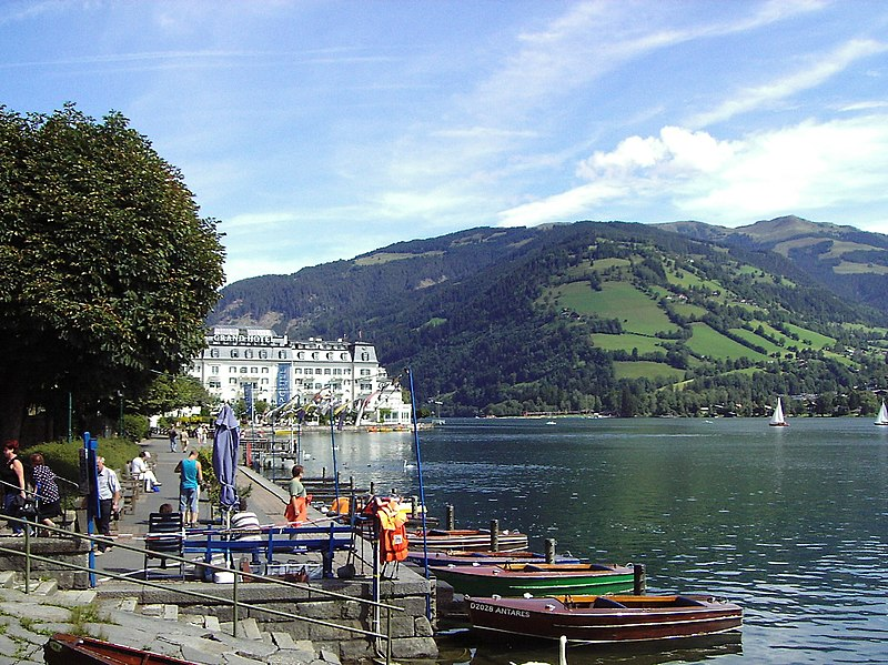 قرية زيلامسي النمساوية الرائعة | zell am see Austrian