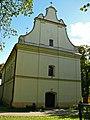Zespół kościoła p.w. Wniebowzięcia NMP - kościół (fot.2) - Bystrzyca, gmina Wólka, powiat lubelski, woj. lubelskie ArPiCh A-563.JPG