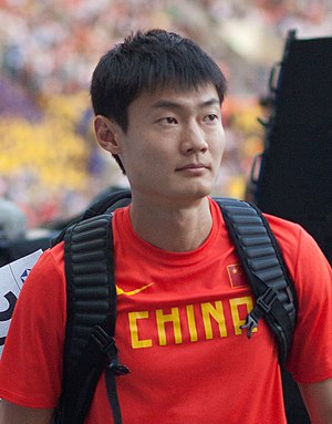 Zhang Peimeng - Zhang at the 2013 World Championships