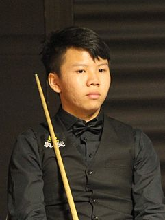 Zhou Yuelong Chinese snooker player