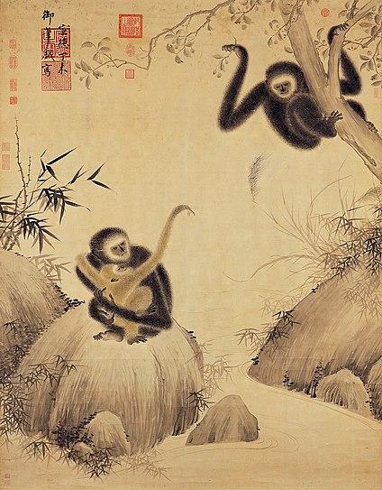 Zhu-Zhanji-Gibbons-at-Play