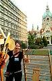 Zinnober Merzbau vom Merzfest auf dem Theodor-Lessing-Platz Hannover Mitte 2012 15. Zinnober-Kunstvolkslaufes Anna Grunemann Bauleitung.jpg