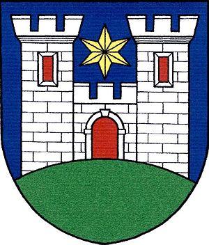 Dalečín - Image: Znak obce Dalečín