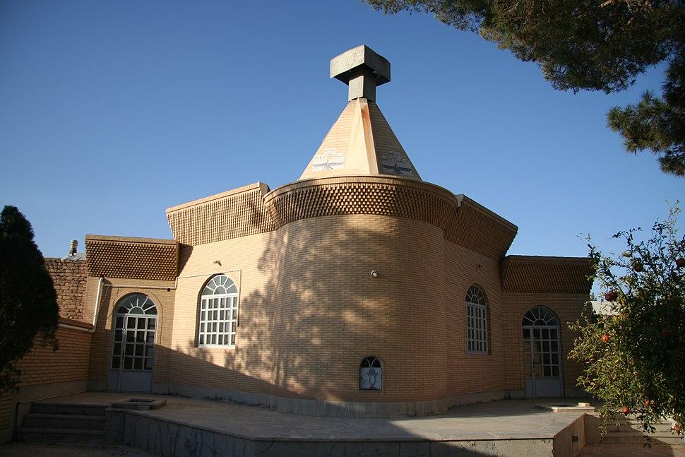 Zoroastrian temple in Mazra Kalantar