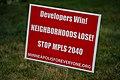 """Developers Win! Neighborhoods Lose! Stop Mpls 2040"" - Minneapolis for Everyone Lawn Signs (30194071478).jpg"