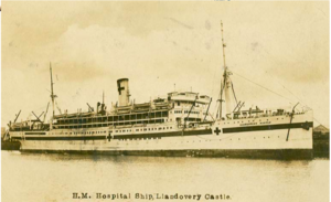 """HM Hospital Ship, Llandovery Castle"""