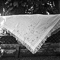 """""""Peča"""", Marjane Kramar, ki jo je okoli leta 1880 za v cerkev nosila njena teta. Mirna 1961 (2).jpg"""