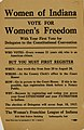 """Women of Indiana Vote for Women's Freedom"" 1917.jpg"