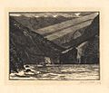 'Hanging Valley' by John C. Poole, wood engraving.JPG
