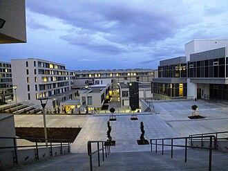 Çankaya University - A view of the Turkuaz campus