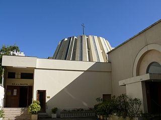 catholic church located in Paris, in France