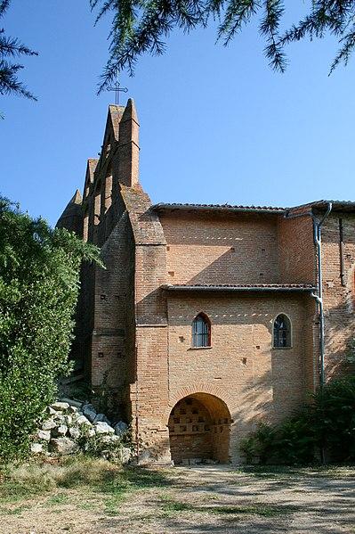 Église Saint-Pierre-et-Saint-Paul de Donneville - Vue du sud