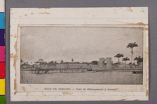 État de Sergipe - Pont de Dèbarquement à Aracajú
