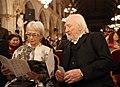 Österreichischer Filmpreis 2013 C Christine Ostermayer, Karl Merkatz.jpg