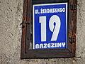 Żeromskiego Street in Brzeziny - 01.JPG