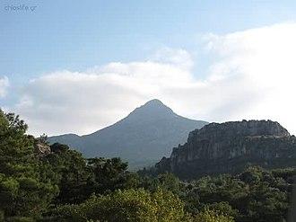 Chios - Mount Pelinaio