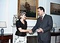 Συνάντηση ΥΠΕΞ, κ. Δ. Δρούτσα, με Γενική Διευθύντρια UNESCO, κα I. Bokova (4973261381).jpg