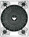 Альбрехт Дюрер Плетиво з білим щитом у центрі до 1507.jpg
