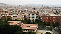 Барселона (Испания) Панорама города с собором архитектора Гауди - panoramio.jpg