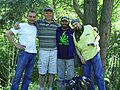 Влад Клен з друзями на Вертифест 2010.JPG