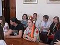 Вручення дипломів ВікіСтудії 21 травня 2015 DSCN1804 02.JPG