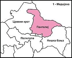 Gradska Opshtina Panteleј Vikipediјa Slobodna Enciklopediјa