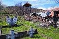 """Гробишта и камбанарија на црквата во """"Горни Дисан"""".JPG"""