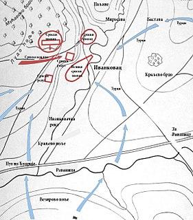 Battle of Ivankovac battle