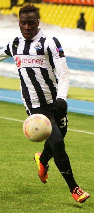 Massadio Haïdara - Haidara playing for Newcastle United in 2013