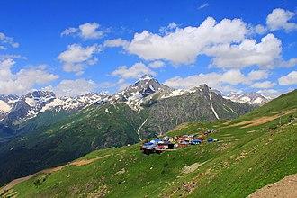 Karachay-Cherkessia - Small settlement in Karachay-Cherkessia
