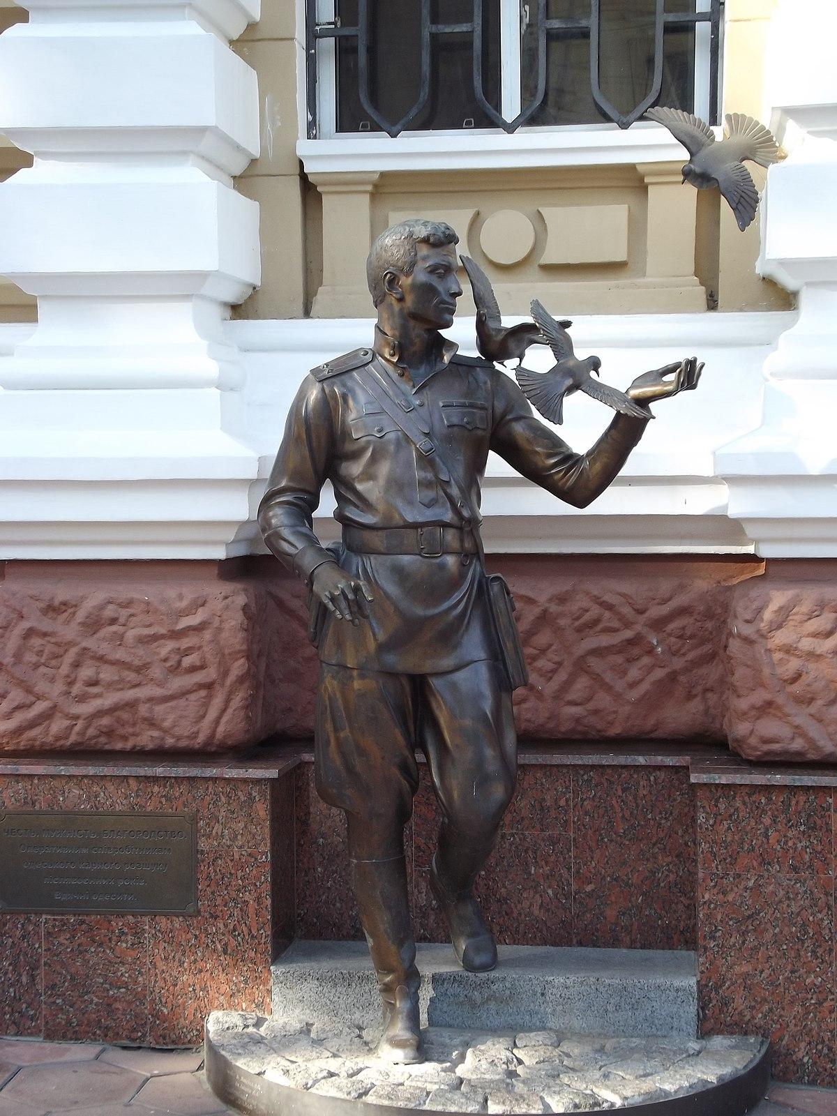 Список памятников Одессы Википедия