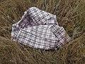 Пустая полимерная сумка - баул, найдена в поле.jpg