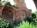 Руіны былога замка Сапегаў з фрагмэнтамі абарончых збудаваньняў12.JPG