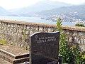 Свјетлопис дијела гробља у порти серб.пр.цр.Св.Трифуна,Клинци,Луштица, и поглед на дио Боке.jpg