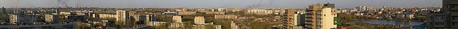 Челябинск, вид на восток с Кирова, 19. 2011.05.06