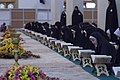 عکس های مراسم ترتیل خوانی یا جزء خوانی یا قرائت قرآن در ایام ماه رمضان در حرم فاطمه معصومه در شهر قم 13.jpg