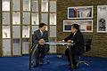 นายกรัฐมนตรีออกอากาศสดรายการเชื่อมั่นประเทศไทยกับนายกฯ - Flickr - Abhisit Vejjajiva (30).jpg