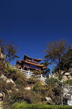 The nandin gate of board mountain, 雲罩寺