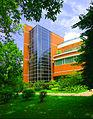 华南农业大学,图书馆信息楼一角 - panoramio.jpg