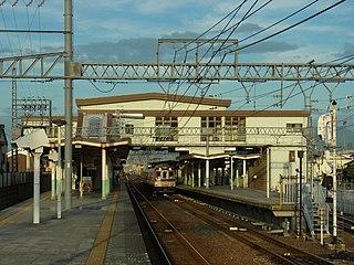 Shakudo Station Railway station in Katsuragi, Nara Prefecture, Japan