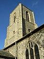 -2018-12-10 Bell tower, Saint Margaret of Antioch parish church, Suffield, Norfolk.JPG