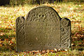 008-Josiah Leavitt (d. Dec 19th, 1717) grave, Hingham Center Cemetery, Hingham, Plymouth Co., MA.jpg