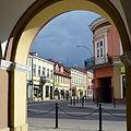 02014 Kreuzung Jagiellonskastrasse bei Kosciuszkistrasse in Sanok.JPG