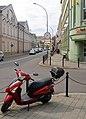 02018 0704 Kreuzung am der Grzegorza Straße in Sanok.jpg