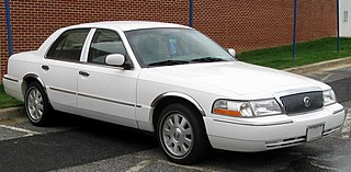Mercury Grand Marquis Motor vehicle