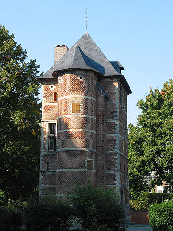 Nivelles (Belgium), the lookout tower called «...