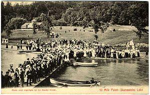 Camp Lourdes - 1907 Postcard