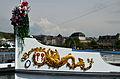 100 Jahre Dampfschiff 'Stadt Rapperswil' - Tag der offenen Dampfschiff-Türe am Bürkliplatz - Bugzier 2014-04-25 14-01-42.JPG